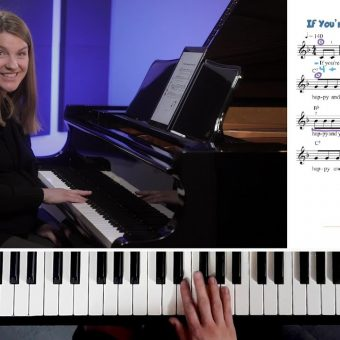 If Youre Happy and You Know It Piano Tutorial