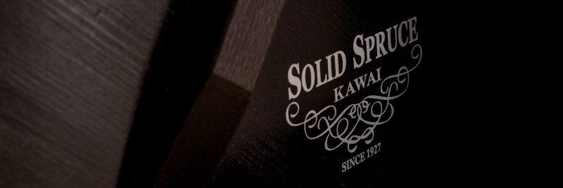 Solid Spruce Soundboard