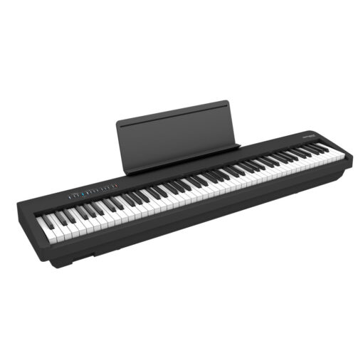 Roland FP-60X Black with Music Rack