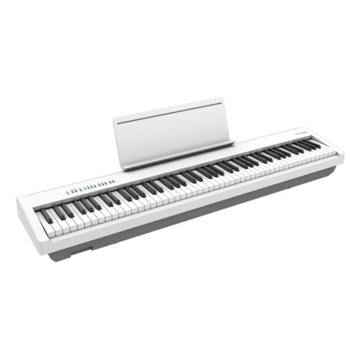 Roland FP-60X White with Music-Rack