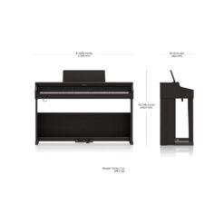 Roland RP701 Dimensions