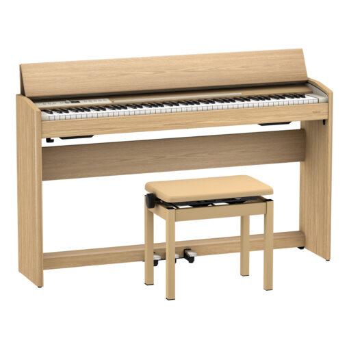 Roland F701 Digital Piano Light Oak