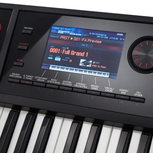 Roland FA-07 Display