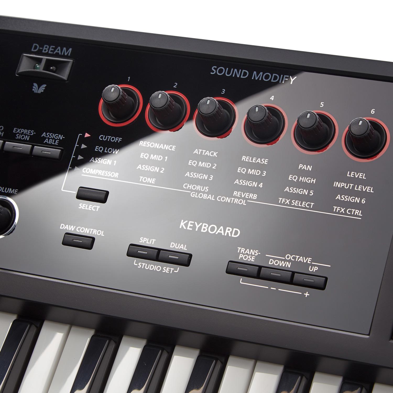 Roland FA-07 Sound Modes