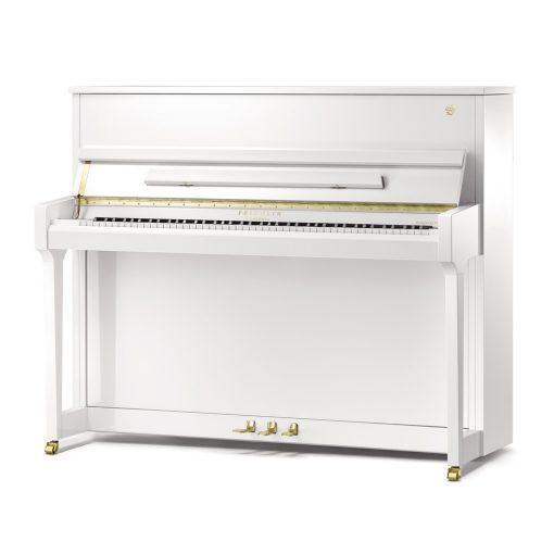 Fridolin F121 Tradition White Upright Piano